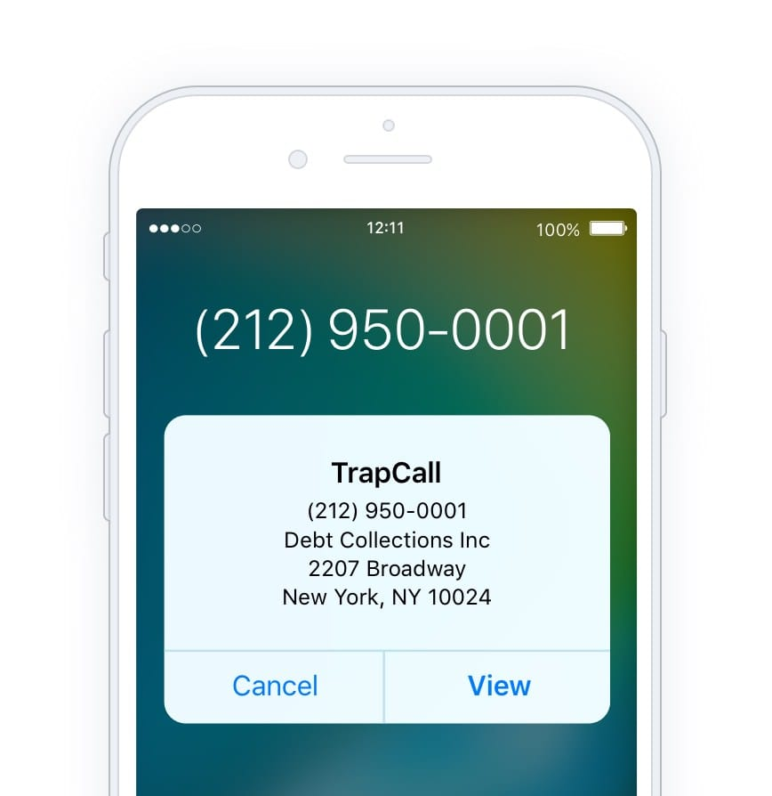 trapcall app for iphone